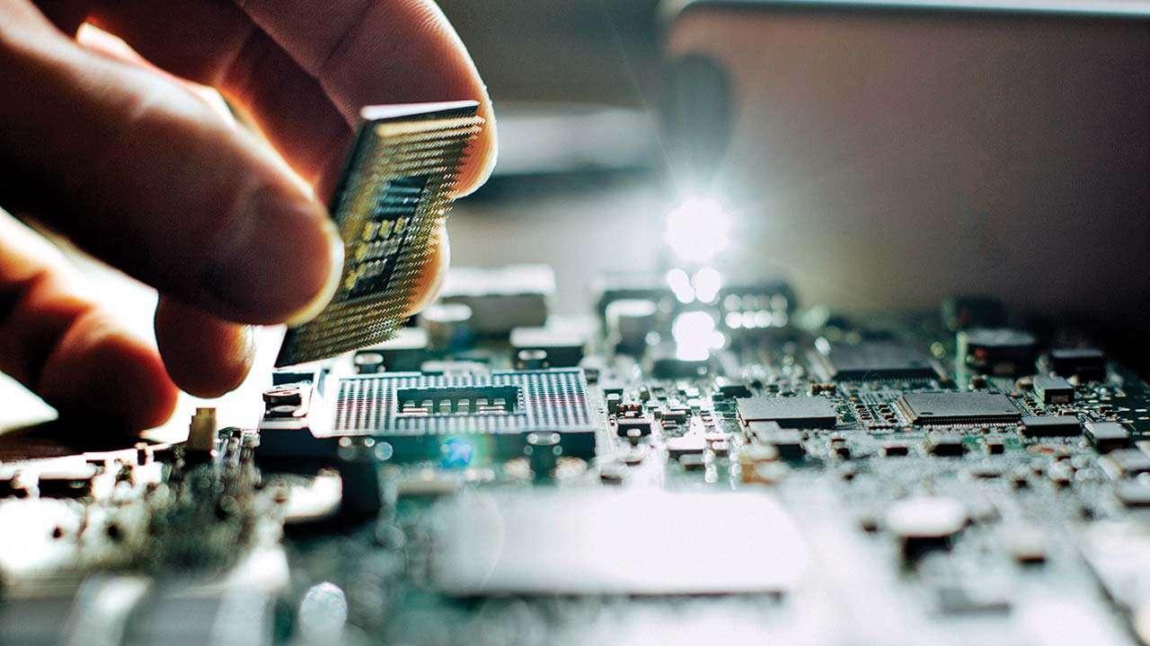 Water Broken Electronics